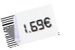 1,69 €