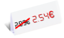 2,54 €