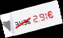 2,91 €