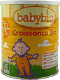 Babybio : Croissance Bio : organic powdered milk :  900g