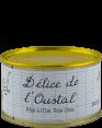 Marie Calmeil : Délice de l'Oustal : Pâté à l'oie et foie gras : 130g