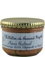 Marie Calmeil : rillettes de canard royales : rillettes au foie gras : 200g