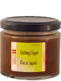 Voyage en Saveur : chutney de figue fraiche : Fig honey bay leaf  : 130 g