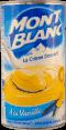 Mont Blanc : La crème dessert à la vanille : vanille naturelle : 570g