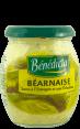 Bénédicta : sauce béarnaise : Sauce à l'estragon et à l'échalote : 240g
