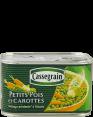 Cassegrain : petits pois et carottes : mélange printanier à l'étuvée : 400g