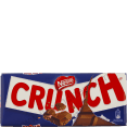 Nestle : Crunch : milk chocolate : 100g