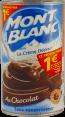Mont Blanc : La crème dessert au chocolat : Sans conservateur : 570g