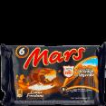 Mars : coeur fondant : barres caramel et chocolat : 3 barres