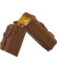 Mars : coeur fondant : barres caramel et chocolat : 6