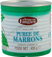 Clement Faugier : puree de marrons : chestnut puree : 439g