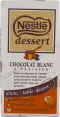 Nestle dessert : blanc : White chocolate : 180g