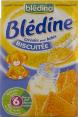 Bledina Bledine : cereales pour bebe biscuitee : baby cereals : 500g