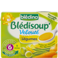 Bledina Bledisoup' : veloute de legumes : Vegetables soup : 2x250ml