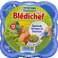 Blédina Blédichef : épinards et saumon : Dès 12 mois : 230g