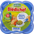 Bledina Bledichef : epinards et saumon : Salmon & spinach : 230g