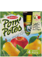Materne Pom'potes : pomme poire : Apple & pear compote : 4 x 90g