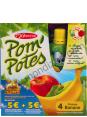 Materne Pom'potes : pomme banane : gourdes de compote : 4 fois 90g