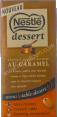 Nestlé dessert : chocolat au lait à pâtisser au caramel : chocolat à pâtisser : 170g