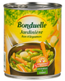 Bonduelle : Jardiniere legumes  : Vegetable mix : 510 g