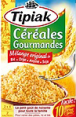 Tipiak : Céréales Gourmandes - Préparation précuite à base de blé dur et d'autres céréales  : Blé : 2 sachets fraîcheur