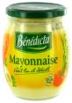 Benedicta : BENEDICTA - Mayonnaise nature aux oeufs  : Mayonnaises : 470 g