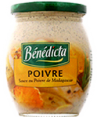 Benedicta : BENEDICTA - Sauce au poivre de Madagascar  : Sauces d'accompagnement : 240 g