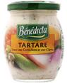 Benedicta : BENEDICTA - Sauce tartare  : Sauces d'accompagnement : 240 g