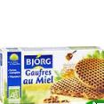 Bjorg : gaufres au miel bio : Biscuits bio : 175 g