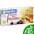 Bjorg : Gâteaux Fourrés myrtilles : Biscuits fourrés bio : 375 g