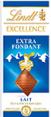 Lindt : Excellence - Chocolat au lait  : Au lait : 100 g