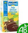 Bjorg : Dessert de soja au chocolat - Bio  : Crèmes Desserts : 525 g