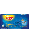 Lipton : Russian earl grey - Thé Russian Earl grey  : Thés Classiques ou d'Origine : 20 sachets