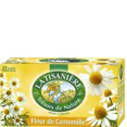La Tisaniere : Fleur de camomille - Infusion Fleur de camomille  : Infusions : 25 sachets