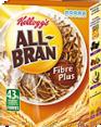 Kellogg's : All Bran Plus : Céréales au son de blé : 500 g