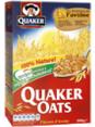 Quaker Oats : flocons d'avoine : Céréales : 500g