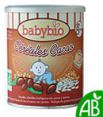 Babybio : céréales bio au cacao : Dès 8 mois : 220 g