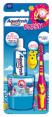 Aquafresh : Popsy - Kit de brossage avec dentifrice pour enfants  : Produits enfants : 1 Pièce