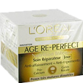 L'oreal : Age Re perfect - Soin crème nutrition intense  : Crèmes antirides : 50 ml