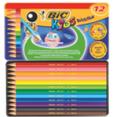 Bic : Kids : Crayons de couleurs : 12 crayons