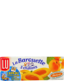 Lu : barquette 3 chatons : Apricot : 120g