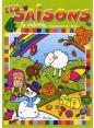 Piccolia : Je colorie j'apprends des mots Les saisons : Livre pour enfant : Unité