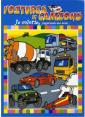 Piccolia : Je colorie j'apprends des mots : Voitures et camions : livre pour enfant