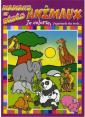 Piccolia : Je colorie j'apprends des mots : Mamans et bébés animaux : livre pour enfant