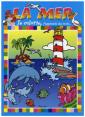 Piccolia : Je colorie j'apprends des mots : La mer : livre pour enfant