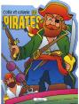 Piccolia : Colle et colorie - Les pirates : Livre pour enfant : Unité