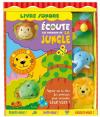 Piccolia : Livre sonore : Ecoute les animaux de la jungle : livre pour enfant