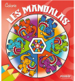 Piccolia : Colorie les mandalas rouge : Livre pour enfant : Unité
