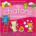 Piccolia : Coloriage de mon âge- Les chatons s'amusent : Livre pour enfant : Unité