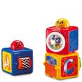 Fisher-Price : Cubes d'activités empilables  : Jouets enfants : Unité